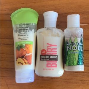 Bath & Body Works Collection of Hand Creams
